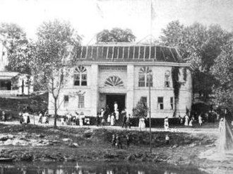 Knoxville College - The Negro Building at the National Conservation Exposition, designed and built by Knoxville College faculty and students