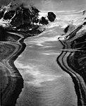 Nenana Glacier, valley glacier with lateral moraines, undated (GLACIERS 5201).jpg