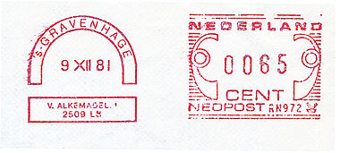 Netherlands stamp type I13.jpg