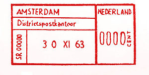 Netherlands stamp type PP1.jpg