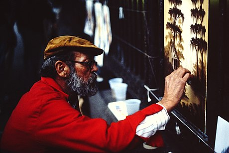 Street artist in the French Quarter (1988) New-Orleans-Street-Artist-1988-205.jpg