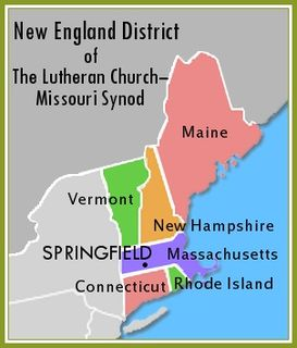 New England District of the Lutheran Church–Missouri Synod
