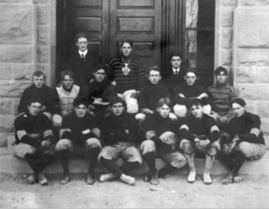New Mexico Lobos - The first men's basketball team (1903)