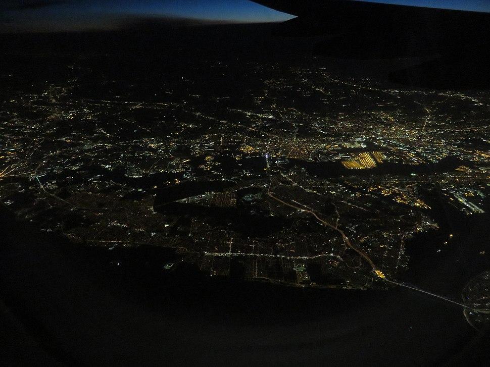 New York aerial night 2018a