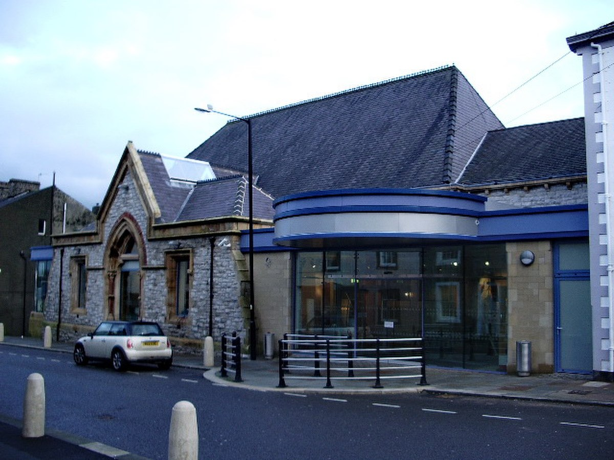 New entrance to the Civic Hall, York Street - geograph.org.uk - 668714.jpg