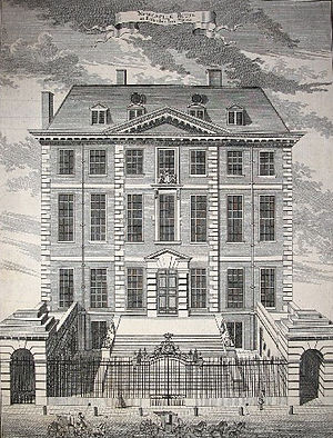 Newcastle House - Newcastle House in 1754.