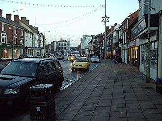 Newport, Shropshire - Newport High Street