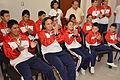 Niños ganadores de las Olimpiadas Especiales Intercantonales visitaron al Alcalde (11106471465).jpg