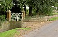 Nice gates. - geograph.org.uk - 530867.jpg