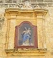 Niche of the Madonna and child, Sannat, Gozo.jpg