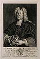 Nicholas Saunderson (Sanderson). Line engraving by G. van de Wellcome V0005223EL.jpg