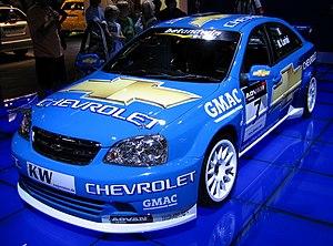 2006 World Touring Car Championship - The Chevrolet Lacetti of Nicola Larini