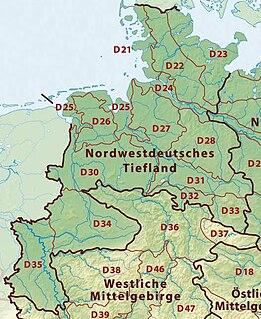 Westphalian Lowland landscape
