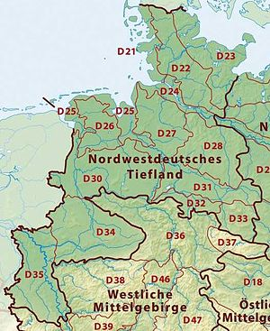 Westphalian Lowland - The Westphalian Basin (D34) within the North(west) German Plain