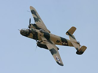 Carson Sink UFO incident - A B-25 flying over Poland.