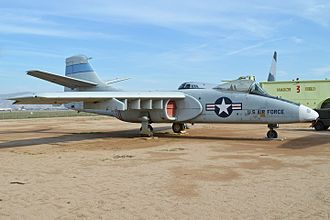 Northrop YA-9 - Northrop YA-9A display at the March Field Air Museum, Riverside, CA.