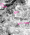 Northwest corner of a spy satellite image in DS1101-1069DA103 showing the 402 project of Beijing Subway.jpg