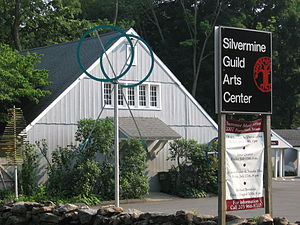 Silvermine, Connecticut - Silvermine Arts Center