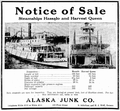 Notice of sale Harvest Queen and Hassalo 1926.png