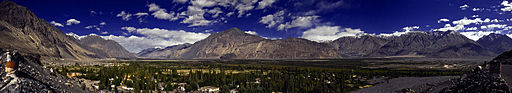 Nubra Valley full moon