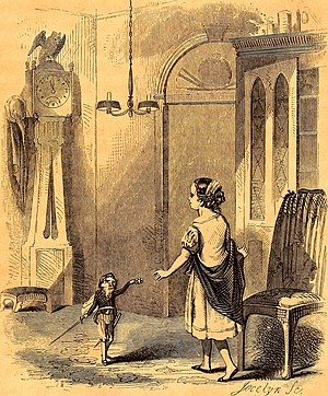 The Nutcracker and the Mouse King - Illustration from the 1853 US edition
