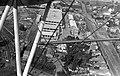Nyíregyháza 1963, Légifotó az Almatárolóról. Fortepan 18250.jpg
