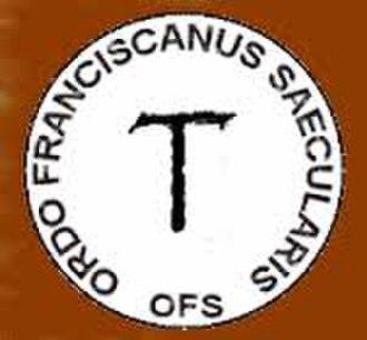 Secular Franciscan Order - Image: OFS Mezinárodní znak