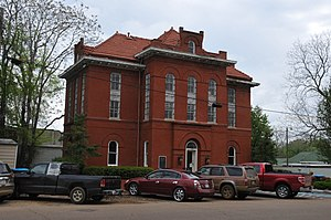 National Register of Historic Places listings in Noxubee County, Mississippi - Image: OLD NOXUBEE COUNTY JAIL, MACON, NOXUBEE COUNTY, MS