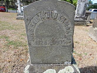Samuel Kamakau - Grave marker of Hainakolo Kamakau in Oahu Cemetery