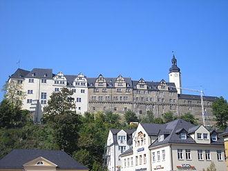 Vogtland - the Upper Château in Greiz, Reußian Residency
