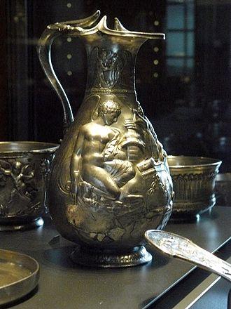Boscoreale Treasure - Image: Oenochoe Boscoreale