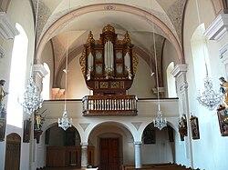 Oepping Pfarrkirche - Orgelempore.jpg