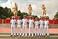 Officers delegation and cadets of the Indian Naval Academy, visit Myanmar Defence Services Academy, 2017 (1).jpg