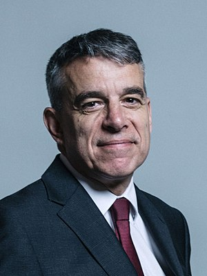 Jeff Smith (British politician) - Image: Official portrait of Jeff Smith crop 2