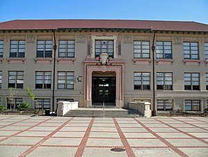 Berkeley High School (California) - Image: Old Berkeley High School (Berkeley, CA)