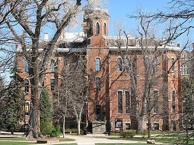 Old Main in Boulder, where the School of Medicine first started. Old Main - Colorado.jpg