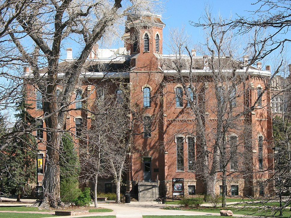 Old Main - Colorado
