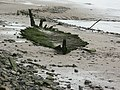 Old barge on Lydney foreshore - geograph.org.uk - 768542.jpg