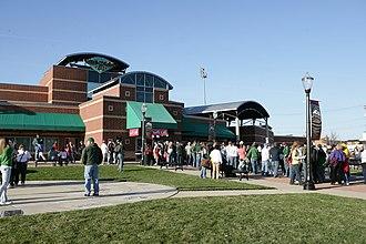Cooley Law School Stadium - Image: Oldsmobile Park 01