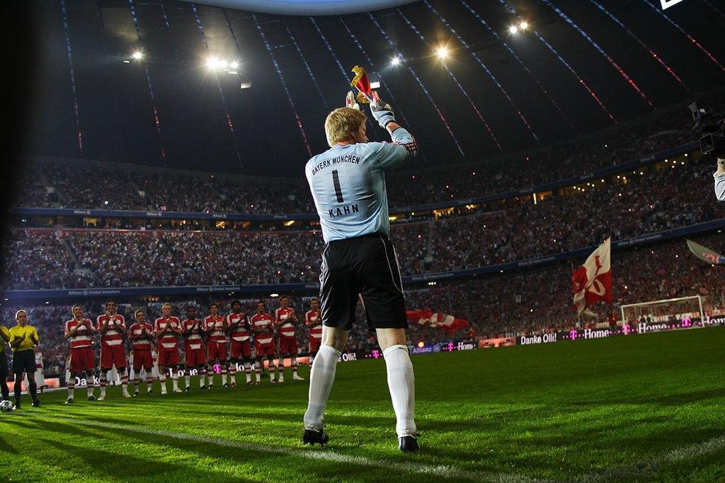 Oliver Kahn - najlepší futbaloví brankári na svete