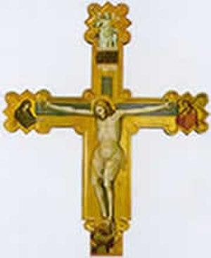 Carlo da Camerino - Crucifix, now attributed to Olivuccio di Ciccarello