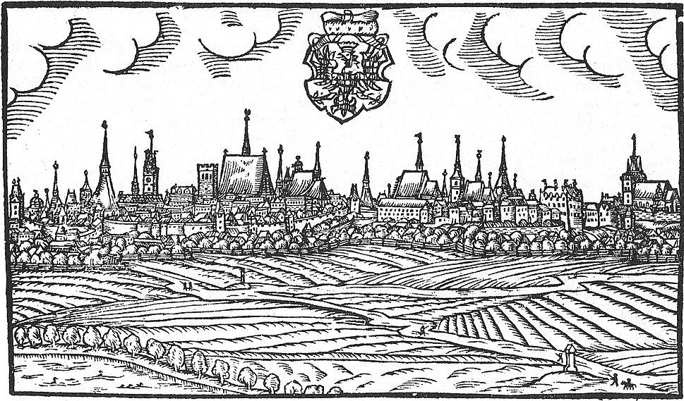 Olomouc 1593 Willenberg