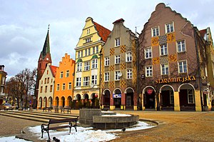 Warmia - Olsztyn is the largest city of Warmia and capital of the Warmian-Masurian Voivodeship