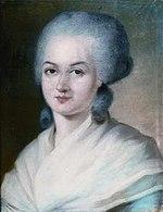 Portrait d'Olympe de Gouges