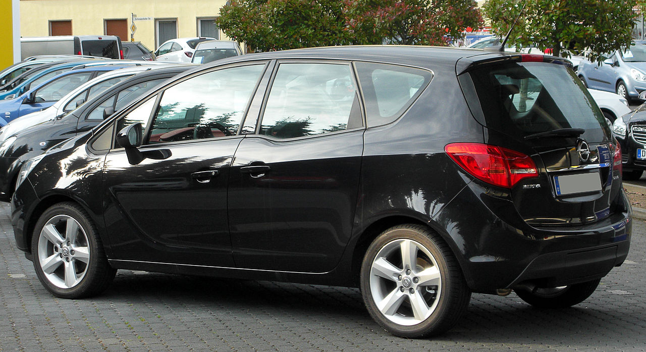 file opel meriva b rear 1 wikimedia commons. Black Bedroom Furniture Sets. Home Design Ideas