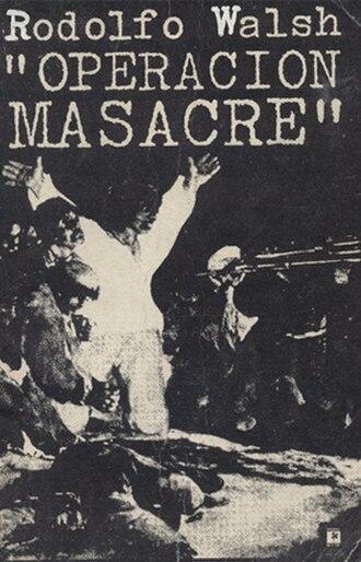 Operación Masacre - Image: Operacion Masacre Book