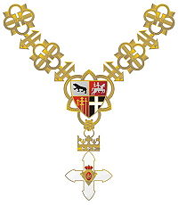 Part of Order with Golden Chain