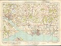 Ordnance Survey One-Inch Sheet 132 Portsmouth & Southampton, Published 1919.jpg
