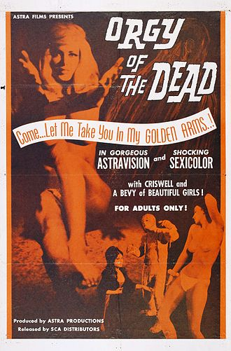 Orgy of the Dead - Image: Orgy of dead poster 01
