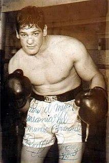 Oscar Bonavena Argentine boxer